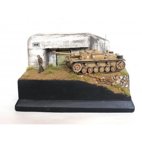 cesta kolem bunkru