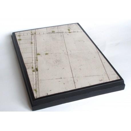 betonová plocha