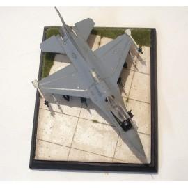 betonová letištní plocha
