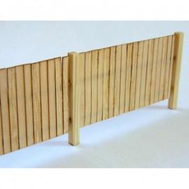 Dřevěný plot 010